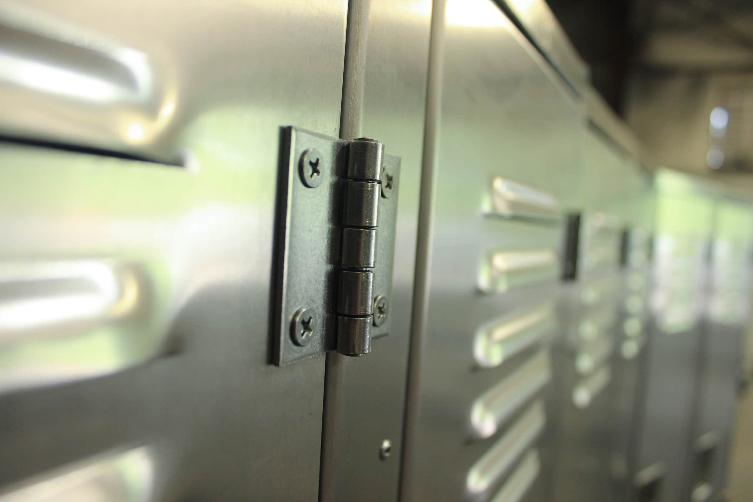 Rich results on Google's SERP when searching for 'aluminum locker hinges'