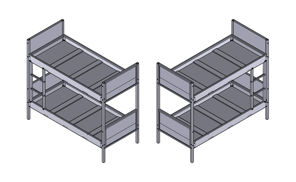 Module Bunk Beds · 1000 Series