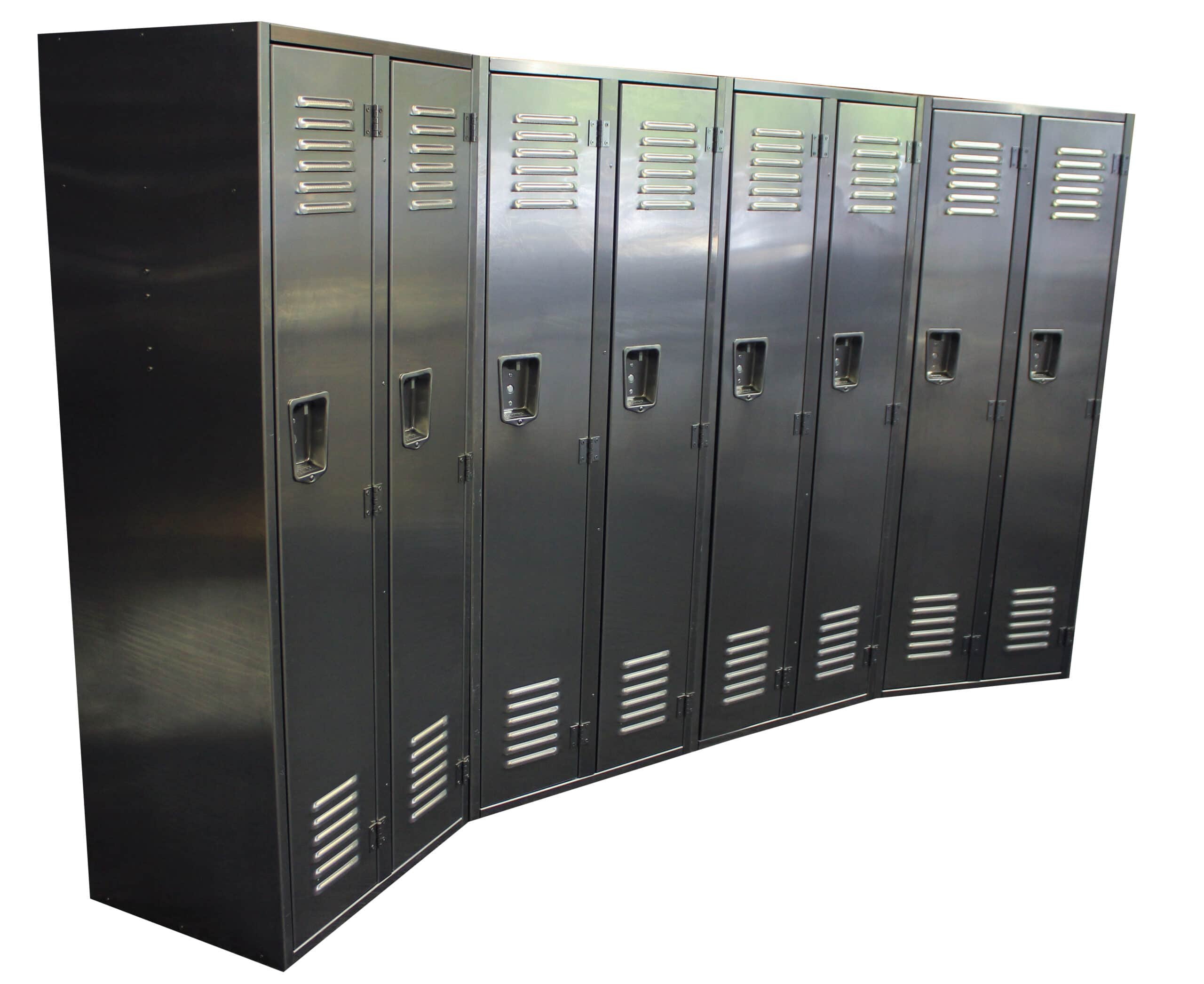 Rich results on Google's SERP when searching for 'single tier aluminum locker closed'