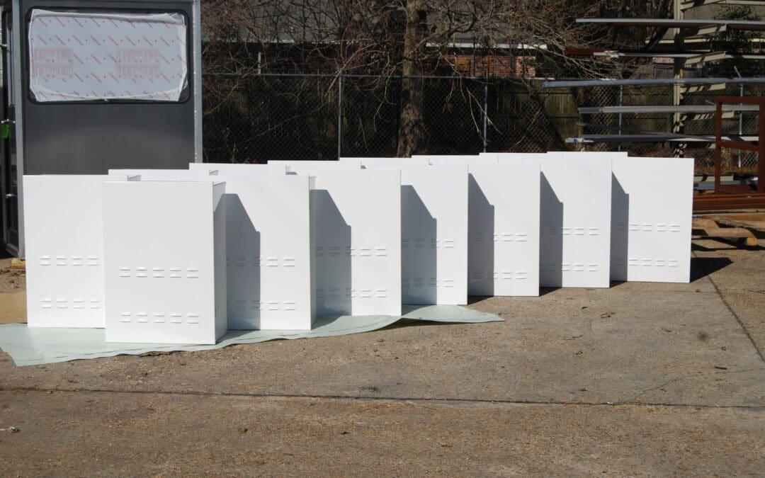 White Enclosure